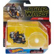 Hot Wheels Star Wars Starships - Darth Maul's Speeder