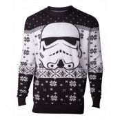 Jultröja Star Wars Stormtrooper Head, LARGE