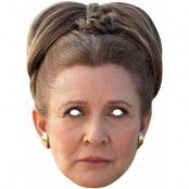 Licensierad Star Wars Leia Pappmask