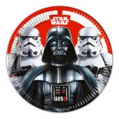 Papperstallrikar Star Wars Final Battle - 8-pack