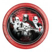 Papperstallrikar Star Wars The Last Jedi - 8-pack