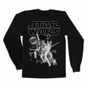 Star Wars Classic Poster Long Sleeve Tee, Long Sleeve Tee