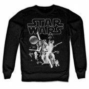 Star Wars Classic Poster Sweatshirt, Sweatshirt