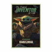 The Mandalorian, Maxi Poster - Inventor of Cute