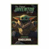 The Mandalorian, Maxi Poster - Inventor of Cute