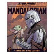 The Mandalorian, Mini Poster - Hello Little One