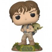 POP! Vinyl Star Wars - Training Luke With Yoda