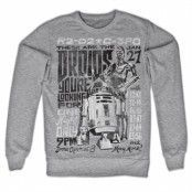 Star Wars Droids Night Sweatshirt, Sweatshirt