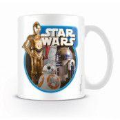 Star Wars Episode VII Mugg Droids