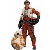 Star Wars Episode VII - Poe Dameron & BB-8 2-Pack - Artfx+