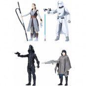 Star Wars Force Link - Battle on Crait 4-Pack
