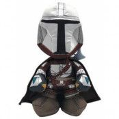 Star Wars The Mandalorian - Mandalorian Warrior Plush Figure - 25 cm