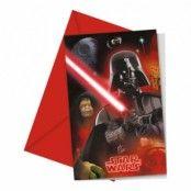 Star Wars Heroes Inbjudningskort