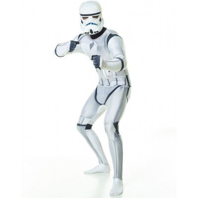 Licensierad Strom Trooper Star Wars - Orginal Morphsuit Kostym med