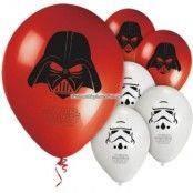 Stjärnornas krig / Star Wars ballonger 28 cm latex - 8 st