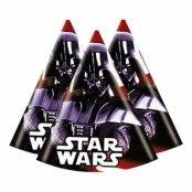 Star Wars Partyhattar - 6-pack
