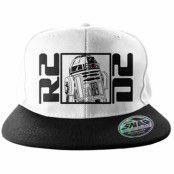 Star Wars R2D2 Snapback, Adjustable Snapback Cap