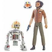 Star Wars Resistance - Jarek Yeager & Bucket (R1-J5)