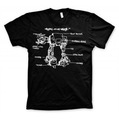 AT-AT Sketch T-Shirt, Basic Tee
