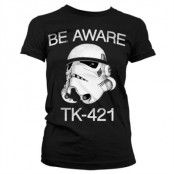 Be Aware TK-421 Girly T-Shirt, Girly T-Shirt