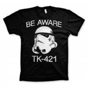 Be Aware TK-421 T-Shirt, Basic Tee