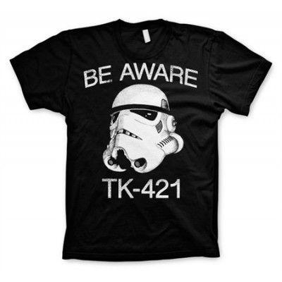 Be Aware TK-421 T-Shirt, Basic Tee