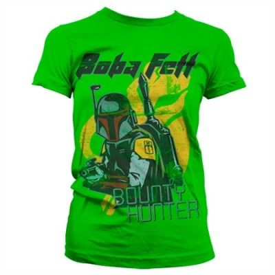 Bob Fett - Bounty Hunter Girly T-Shirt, Girly T-Shirt