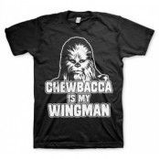 Chewbacca Is My Wingman T-Shirt, Basic Tee