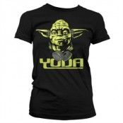 Cool Yoda Girly T-Shirt, Girly T-Shirt
