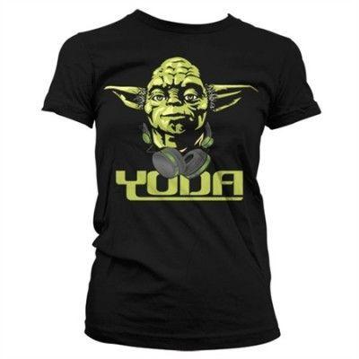 Cool Yoda Girly T-Shirt, Girly T-Shirt
