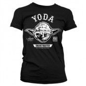 Grand Master Yoda Girly T-Shirt, Girly T-Shirt