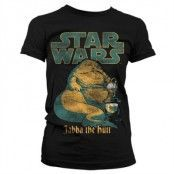 Jabba The Hutt Girly Tee, Girly T-Shirt