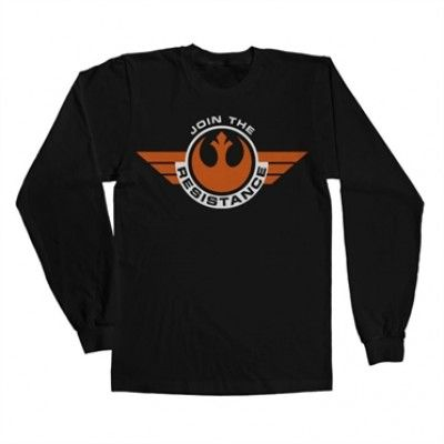Join The Resistance Long Sleeve T-Shirt, Long Sleeve T-Shirt