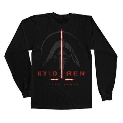 Kylo Ren First Order Long Sleeve Tee, Long Sleeve T-Shirt