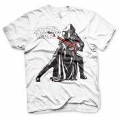 Kylo Ren Pose T-Shirt, Basic Tee