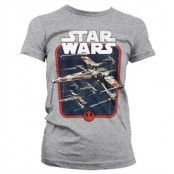 Red Squadron Girly T-Shirt, Girly T-Shirt
