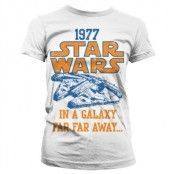 Star Wars 1977 Girly T-Shirt, Girly T-Shirt