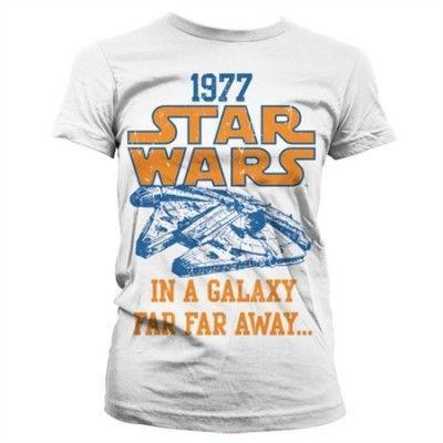 Star Wars 1977 Girly T-Shirt, Girly T-Shirt