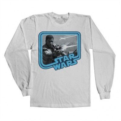 Star Wars 7 - Finn Long Sleeve Tee, Long Sleeve T-Shirt