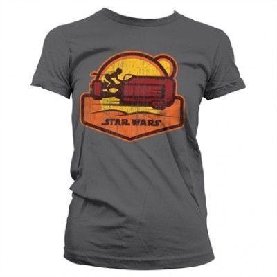 Star Wars 7 - Speeder Girly Tee, Girly T-Shirt