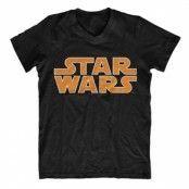 Star Wars Classic Logo V-Neck Tee, V-Neck T-Shirt