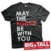 Star Wars - May The Force Be With You Big & Tall T-Shirt, Big & Tall T-Shirt