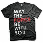 Star Wars - May The Force Be With You T-Shirt, Basic Tee