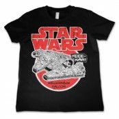 Star Wars - Millennium Falcon Kids T-Shirt, Kids T-Shirt