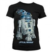 Star Wars R2D2 Girly T-Shirt, Girly T-Shirt