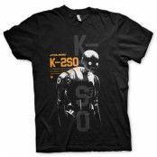 Star Wars Rouge One K-2SO T-Shirt, Basic Tee