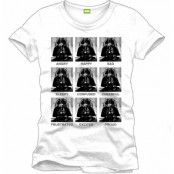 Star Wars - T-Shirt Darth Vader Emotions