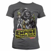 Star Wars The Empire Strikes Back Girly T-Shirt