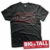 Star Wars - The Last Jedi Logo Black Big & Tall T-Shirt, Big & Tall T-Shirt