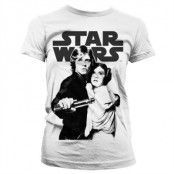 Star Wars Vintage Poster Girly T-Shirt, Girly T-Shirt